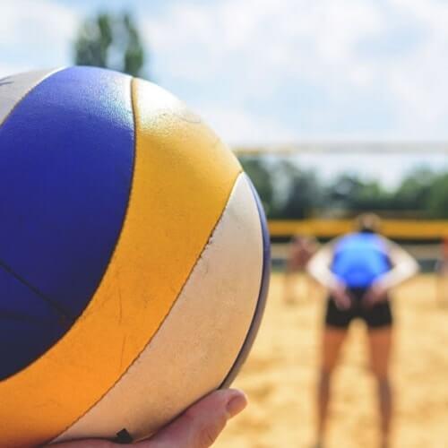 Prestige Jindal City Volleyball Court