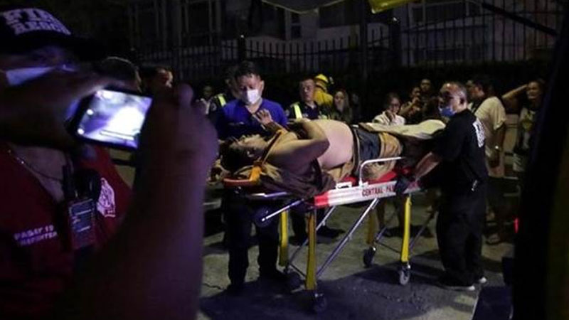 36 bodies found in Manila casion attacked by lone gunman