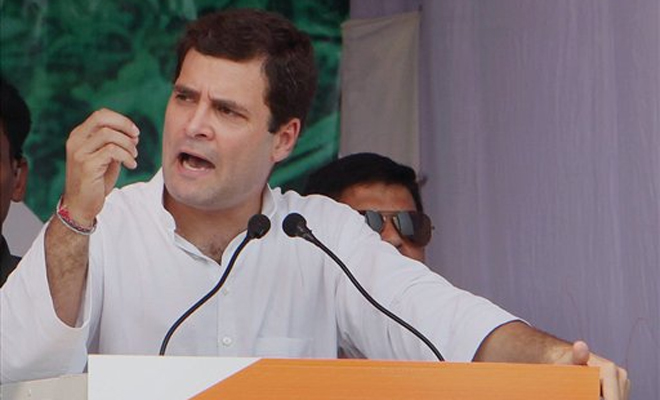 Rahul Gandhi rebukes Sandeep Dikshit over his 'sadak ka gunda' remark about Army Chief Bipin Rawat