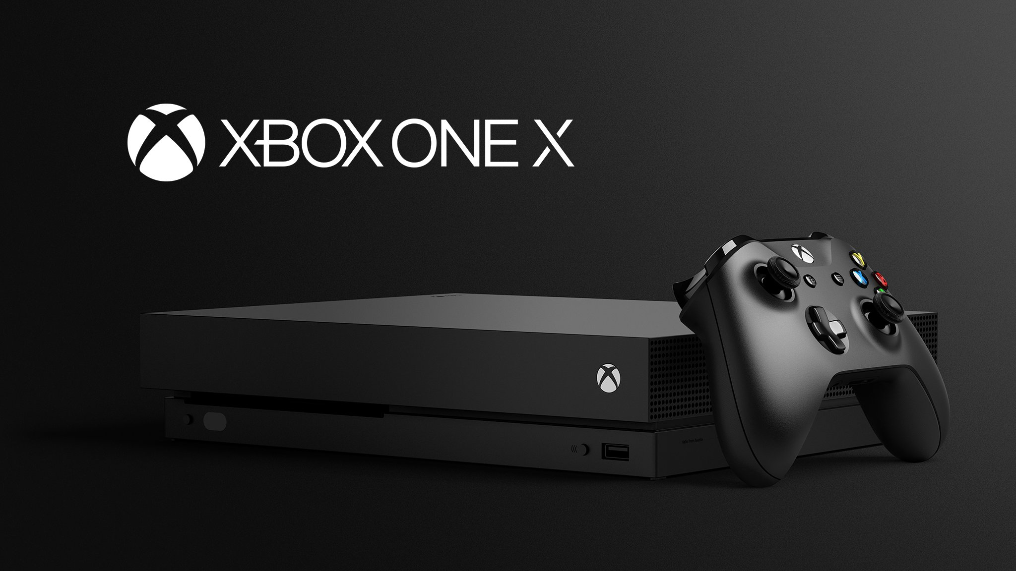 Microsoft has unveiled its new console, the Xbox One X