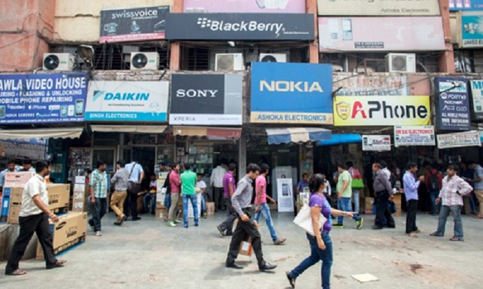 The demand for electronic products in India is expected to grow at a compound annual growth rate
