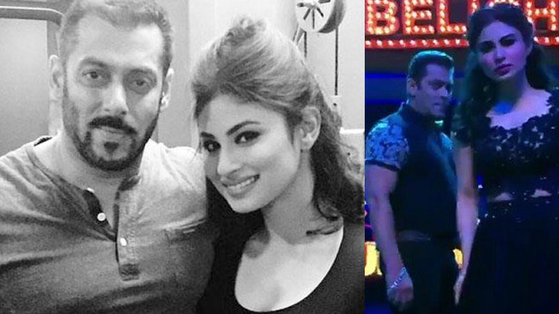 Mouni Roy almost gave a kiss to Salman Khan during a TV Show