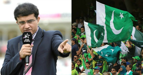 Video: Sourav Ganguly heckled in London by Pakistani fans
