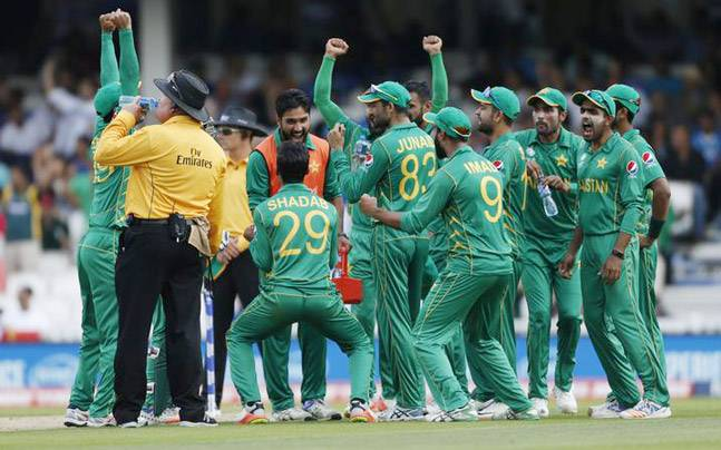 India fail to defend Champions Trophy title, lose match by 180 runs