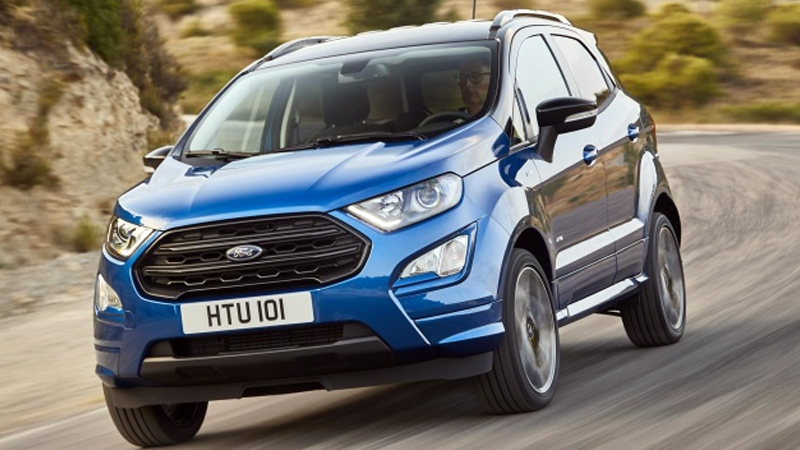 Ford EcoSport unveiled for European Market, to go on sale later this year