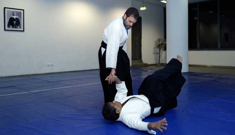 Image result for rahul gandhi martial arts