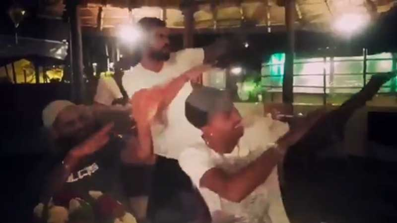 Video: Virat Kohli syncs dance moves with Dhawan, Pandya