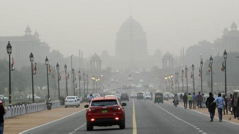 Delhi air quality back to severe plus