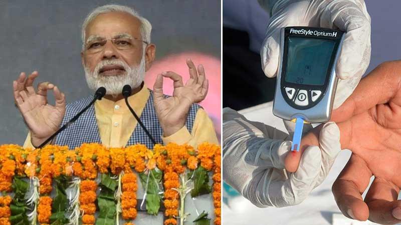 World Diabetes Day: Live healthy to avoid diabetes, says PM Modi