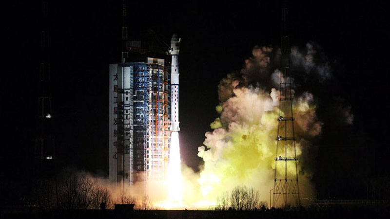 China launches new meteorological satellite 'Fengyun-3D' successfully