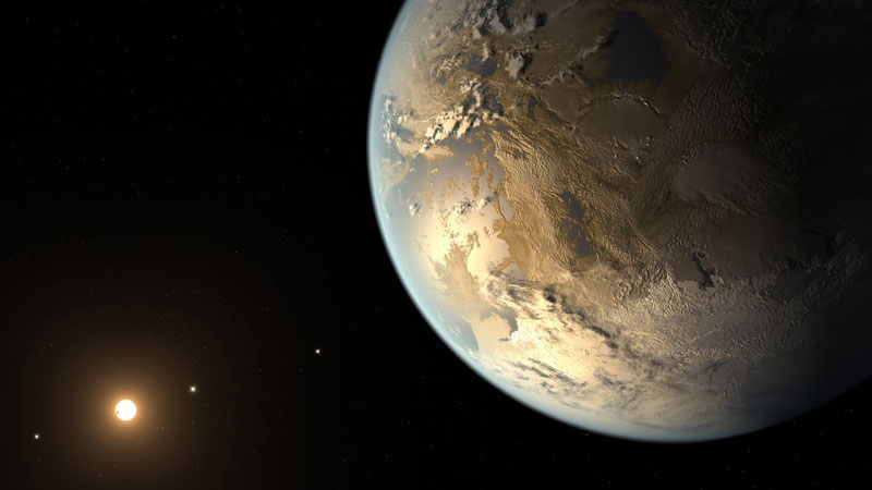 Researchers find exoplanet with ingredients of Earth like atmosphere