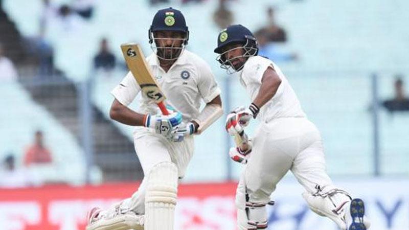 India vs Sri Lanka, Kolkata Test, Day 2: Pujara wages lone battle as hosts totter at 74/5