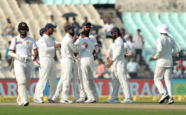 India narrowly miss win in Eden Test vs Sri Lanka (Source: BCCI Twitter)