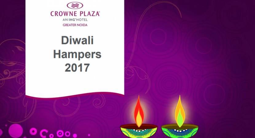 Diwali hampers by Crowne Plaza Greater Noida hotel