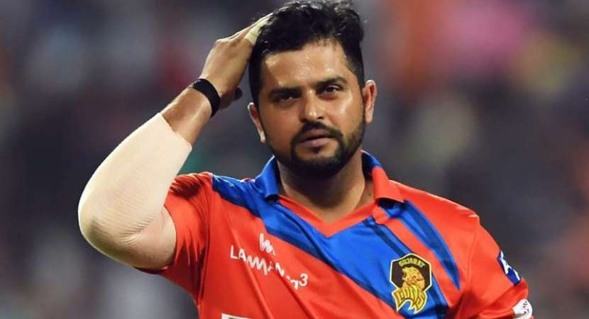 Cricketer Suresh Raina escapes accident after tyre burst