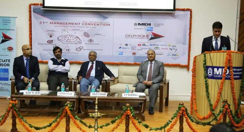 MDI organises biggest national management research convention