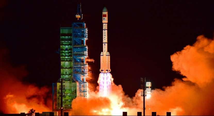 China launches land exploration satellite into preset orbit