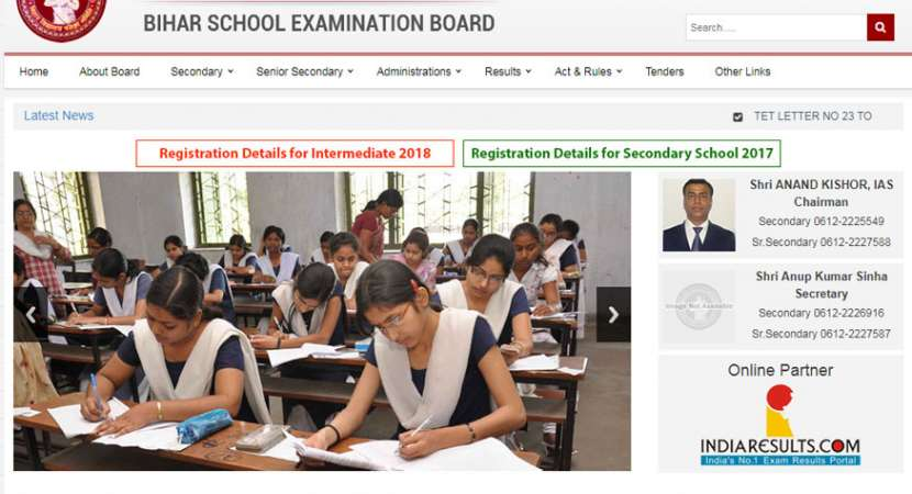 Bihar Board Class 10th Examination 2018 Date Sheet released at biharboard.ac.in
