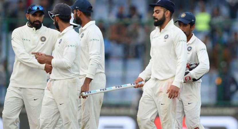 Sri Lanka save Kotla Test with a draw, India win series 1-0
