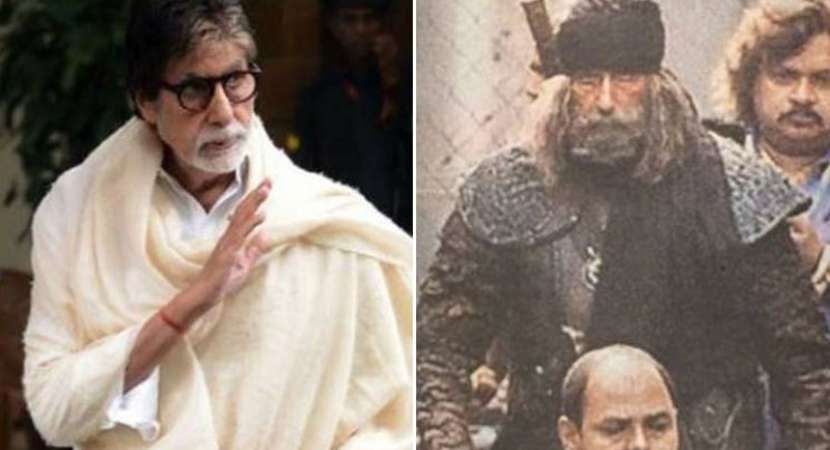 Amitabh Bachchan leaves for Thailand to shoot 'Thugs Of Hindostan'