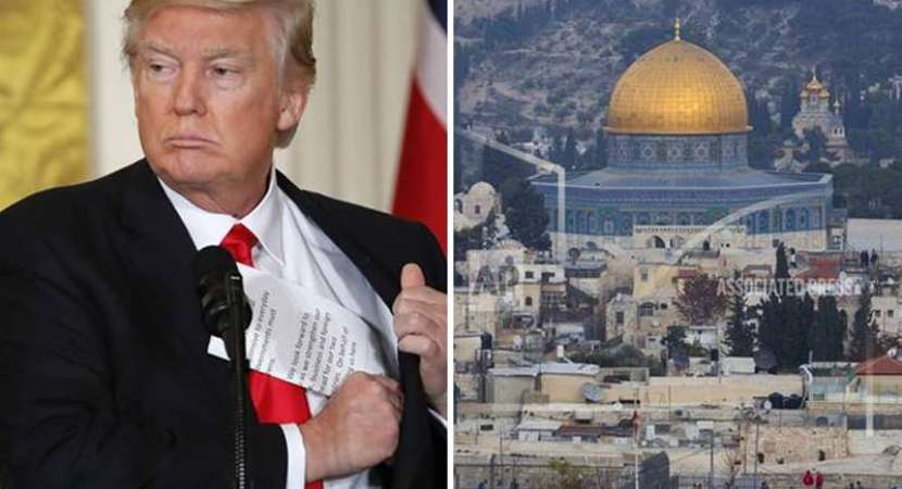 Trump officially recognises Jerusalem as Israeli capital