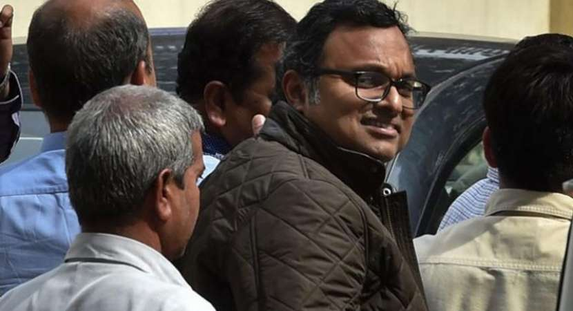 Karti Chidambaram presented at court; CBI demands 15 days remand