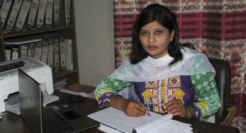 Krishna Kumari becomes first Hindu Dalit woman senator of Pakistan