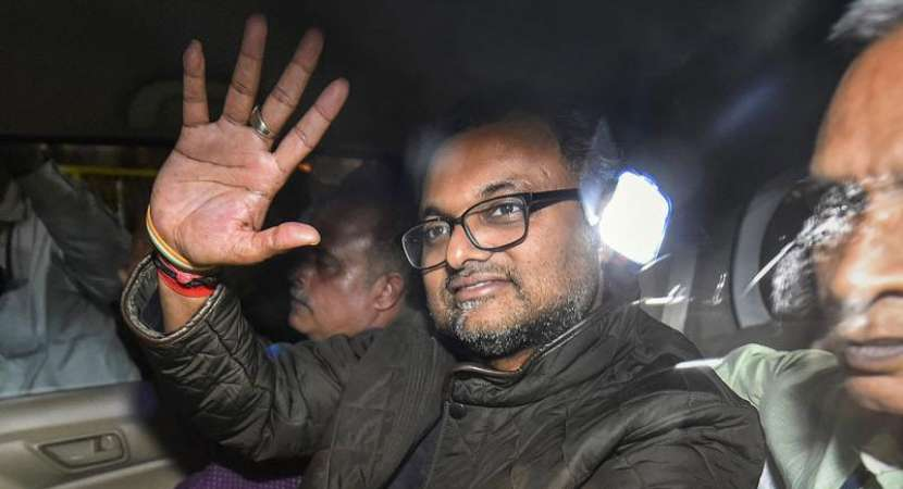 Karti flown back to Delhi after confronting Indrani at Mumbai jail