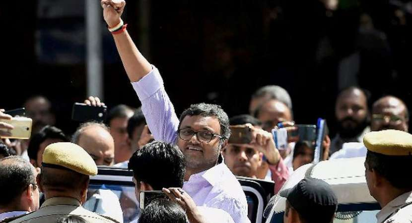 Court extends Karti's CBI custody by 3 days