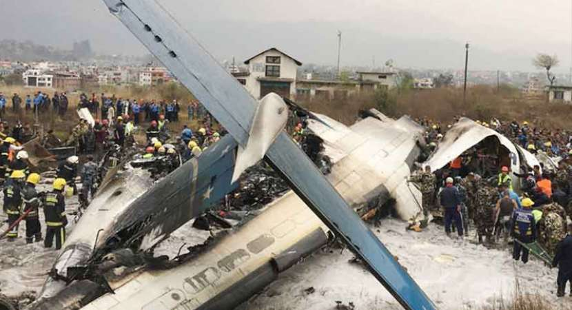 US-Bangla passenger plane crashes in Nepal, many feared dead