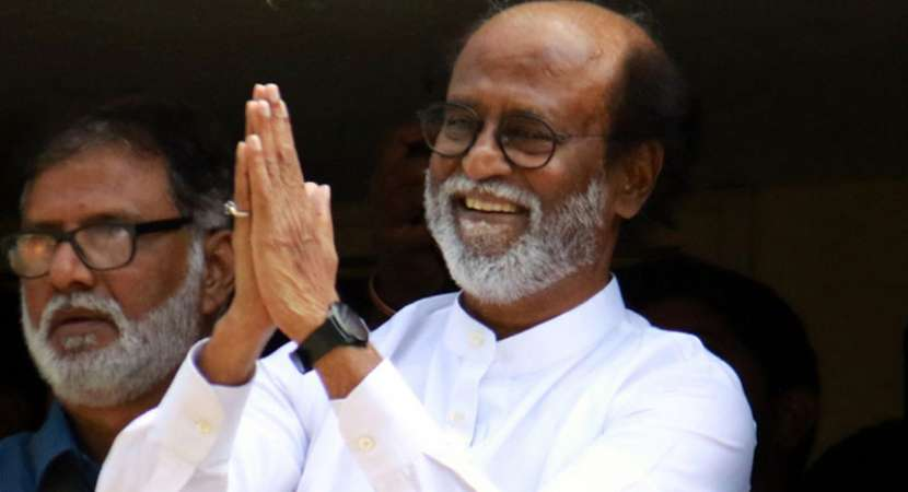 Not become a full-time politician: Rajinikanth