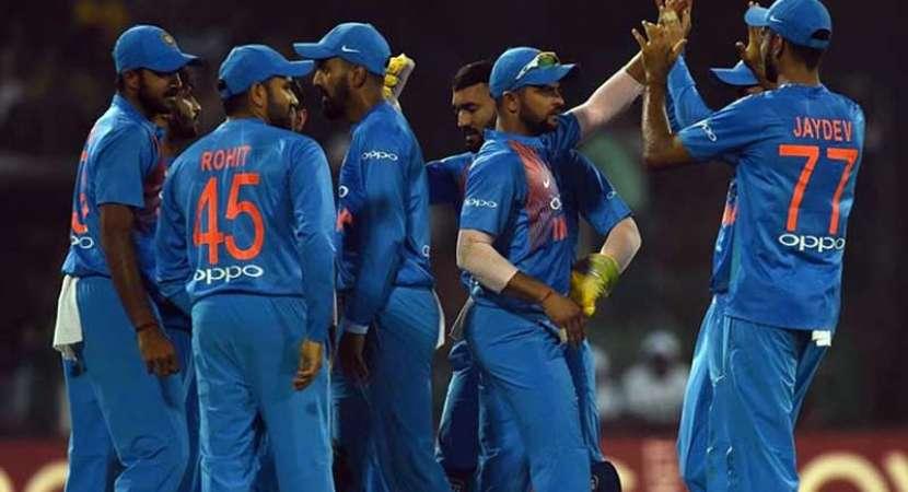 India Sri Lanka Fourth match