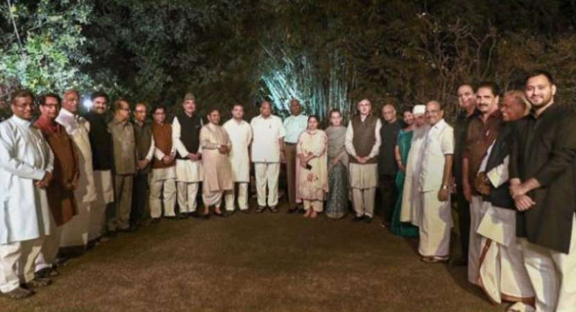 Sonia Gandhi hosts dinner for opposition parties discusses ways to defeat PM Modi