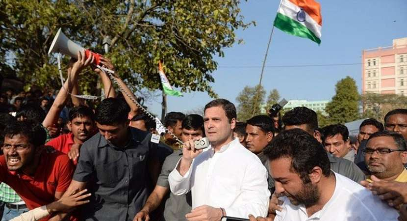 India is rising against Modi: Rahul Gandhi