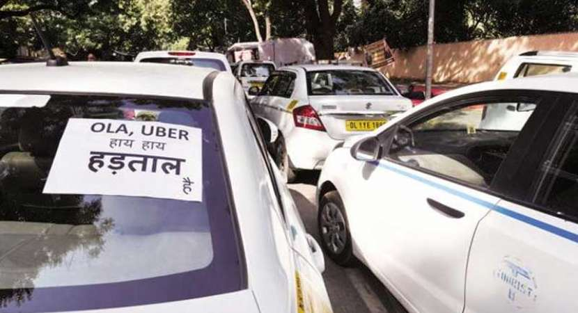 Ola, Uber drivers strike hits commuters hard
