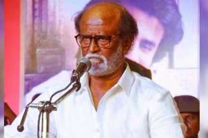 Only god and people behind me, says Rajinikanth