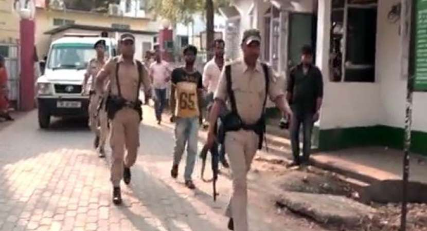There's tension in Assam after a class 5 student was allegedly gang-raped in Nagaon district