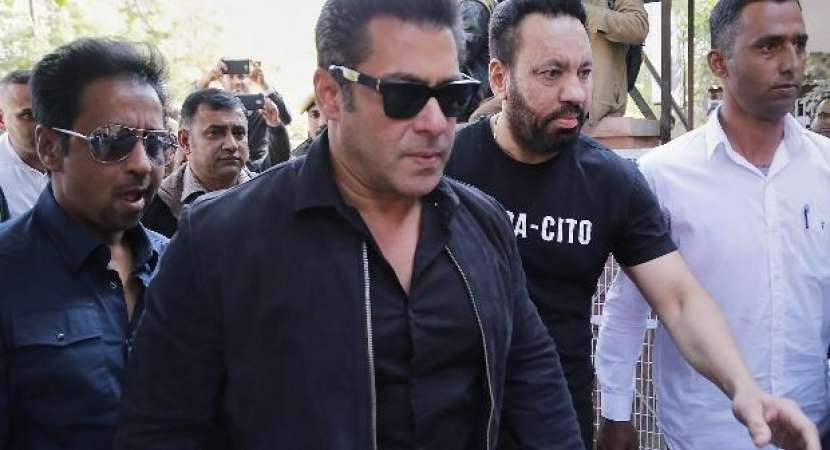 Salman Khan given jail uniform & to sleep on floor