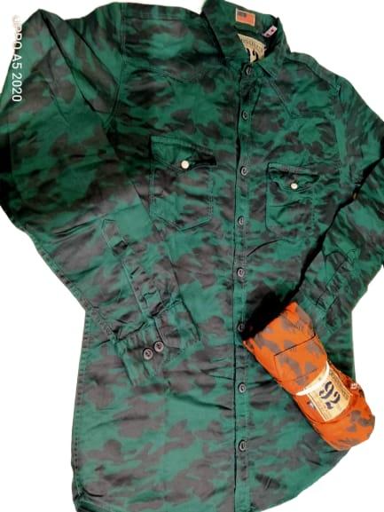 Army pattern shirt