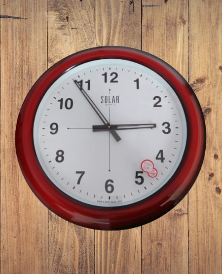 Branded wall silent clock