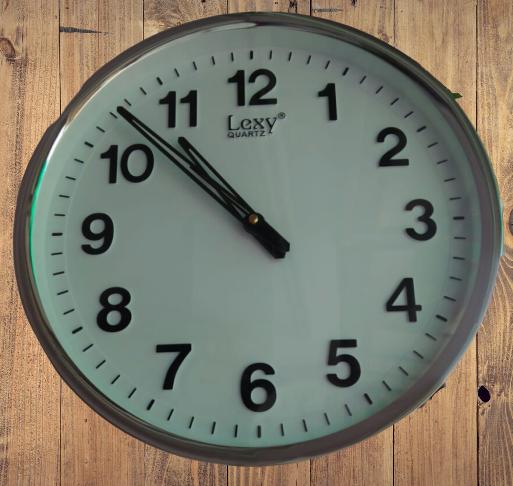 Last wall clock