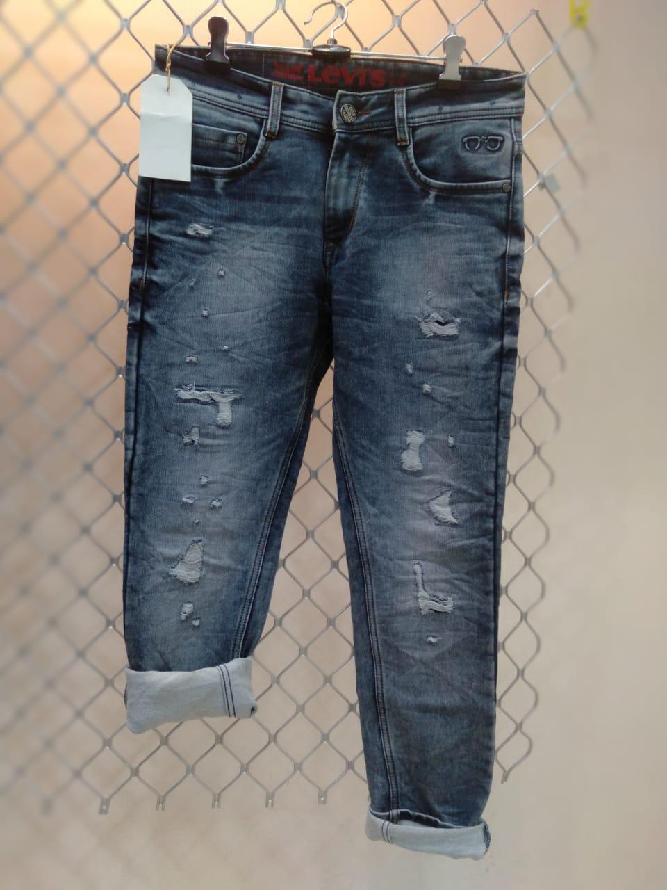 Mens Light Blue Demaze jeans