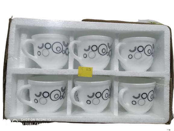 Ceramic mug set 6 piece best for tablewere