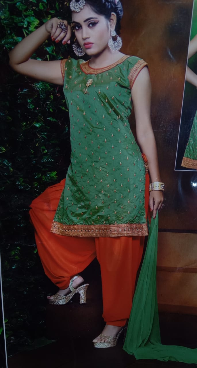 Women's patiala suit