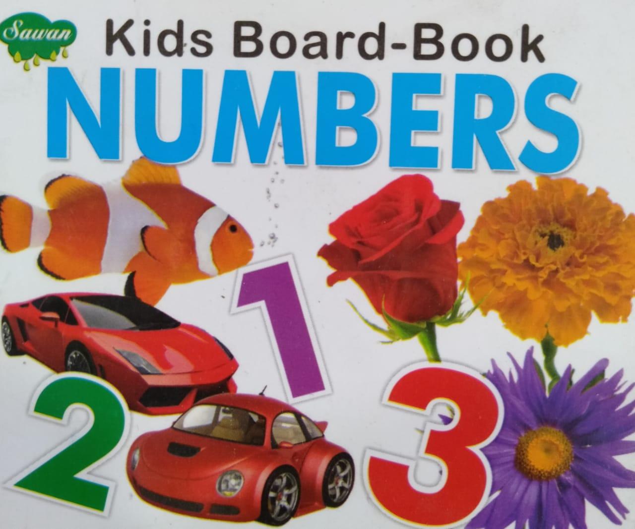 Kids Board book Numbers