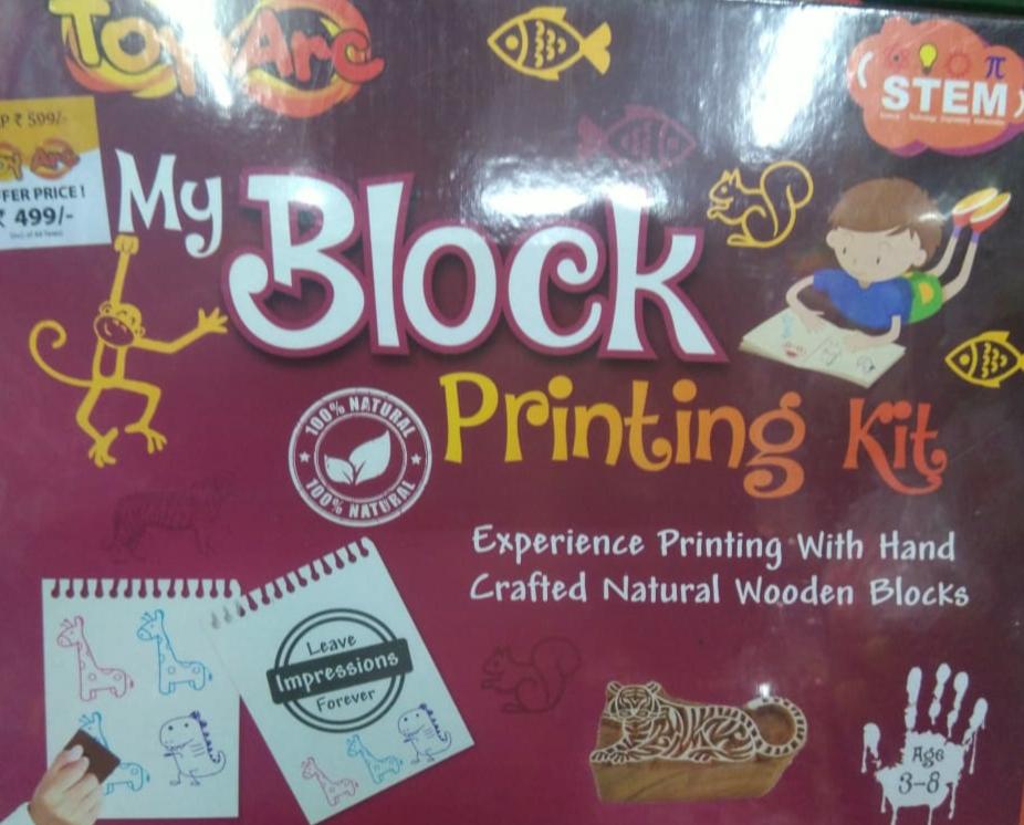 My Block Printing kit