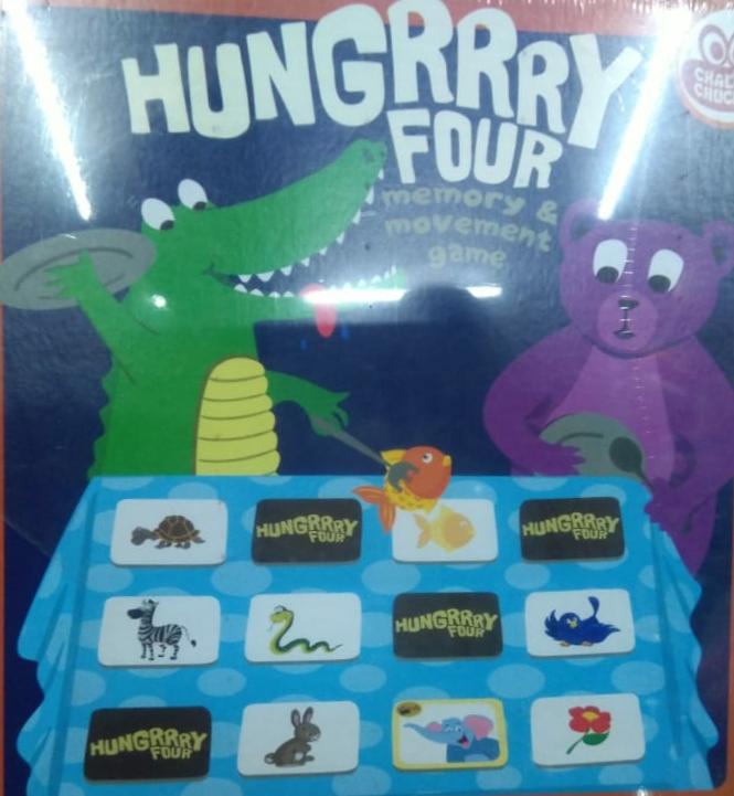 Hungrrry Four