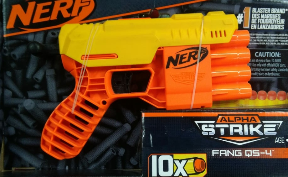 Nerf Alpha Strike Gun