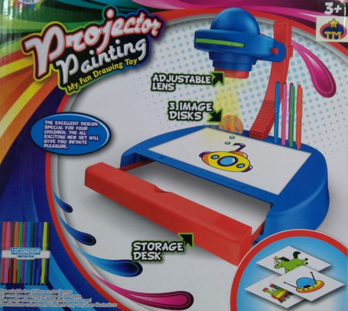 Projectors painting