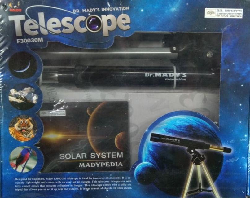 Telescope solar system